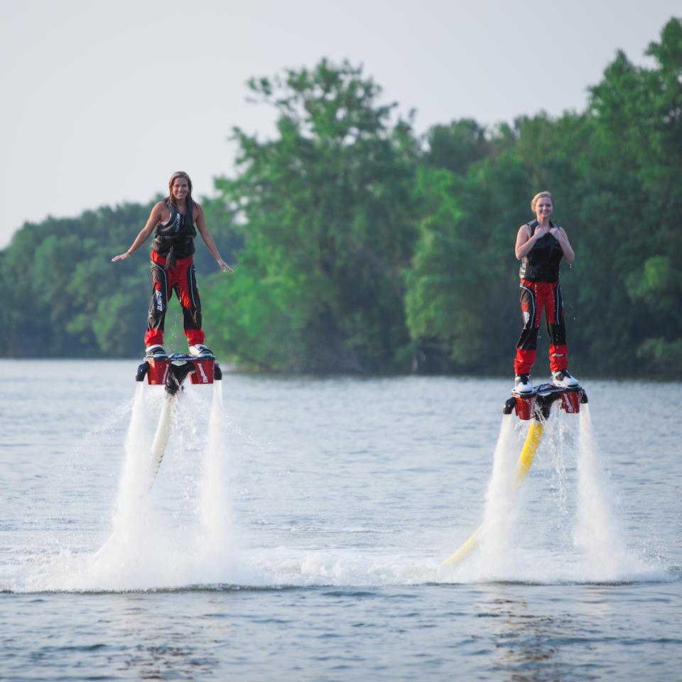 flyboard, watersport, jetpack, hoverboard, water, lake, sport