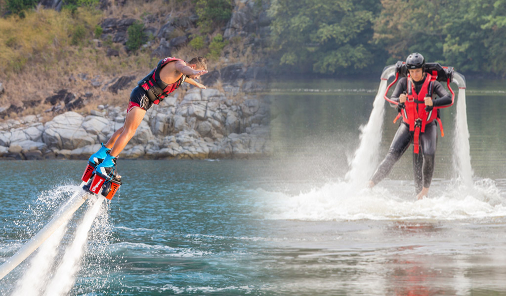 Water Jet Packs vs  Flyboards – which one's for you?